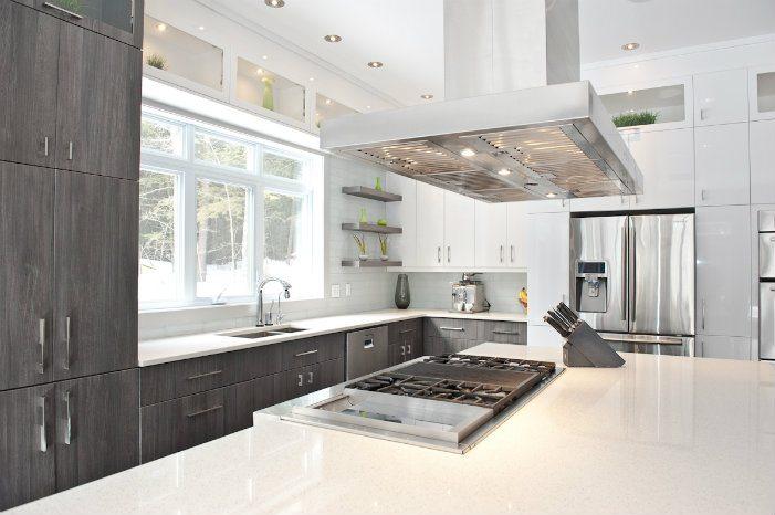 Rénovation de cuisine en Outaouais par CP / Kitchen renovation in the Outaouais by PK